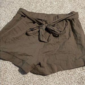 Shein Paperbag Tie-waist Shorts